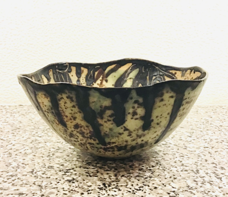 ML? / MF? Bowl, MH / HM mark - Hannelore Meinhold-Morgan  C032b410
