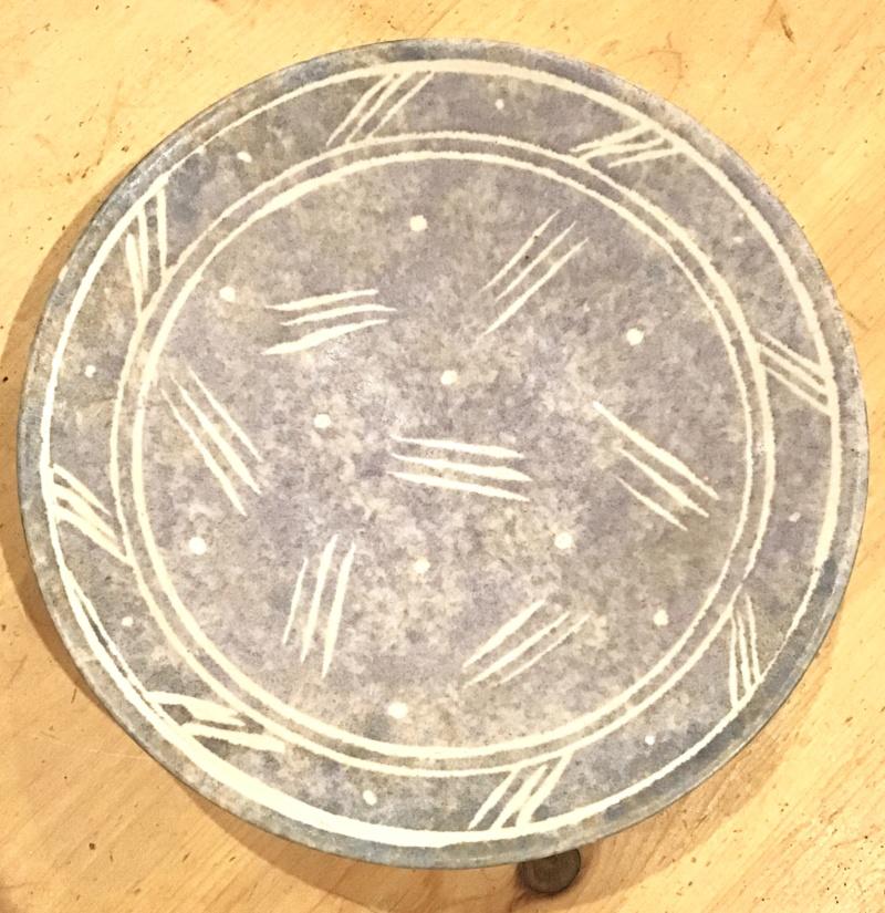 Pastel bowl, tricky mark AB / JHB... D6530710