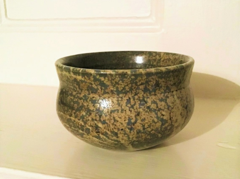 Speckled Shimmering Small Bowl W or M... Img_6111