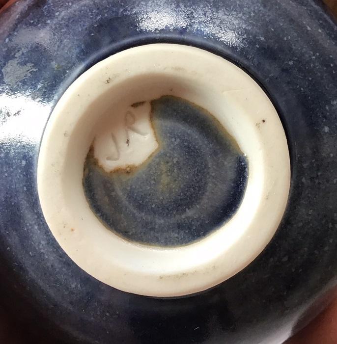 Porcelain Bud Vase - JR mark - John Rivers Jr_mar10