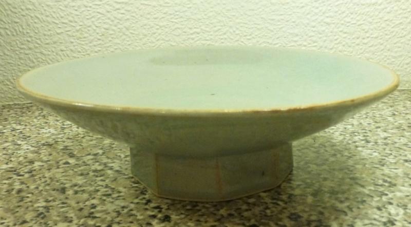 Nice Celadon Footed Bowl M / W Mark P1160011