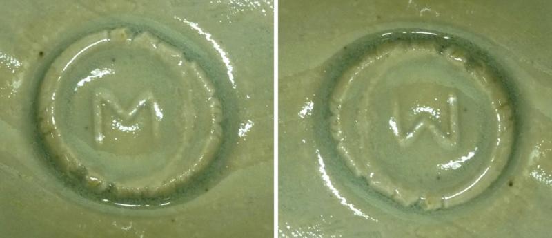 Nice Celadon Footed Bowl M / W Mark P1160012