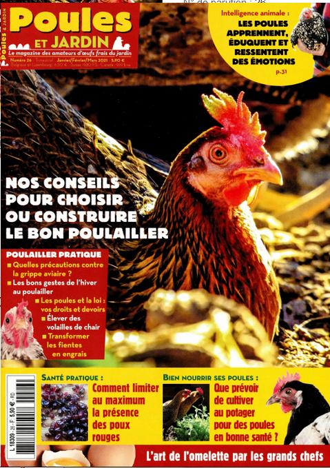 magazine Poule&Jardin Poulej10