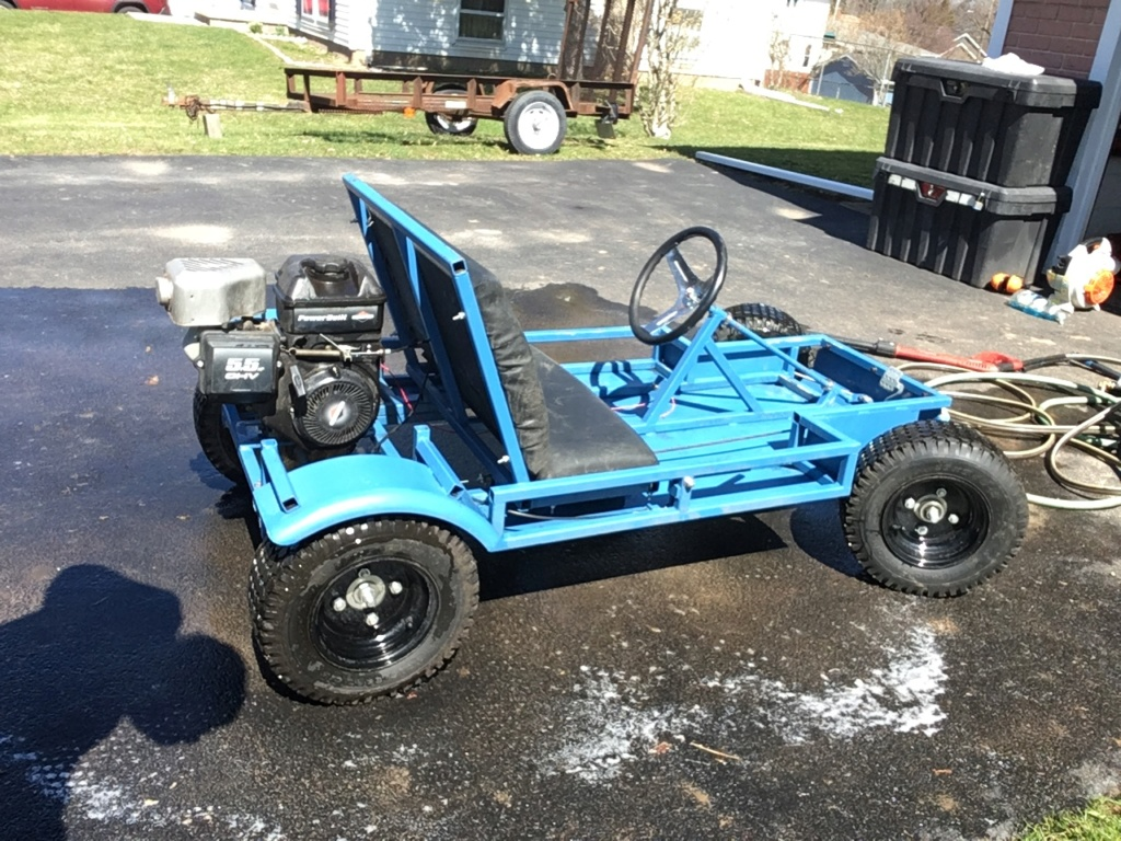 Homemade Go Kart Revival Cb415c10