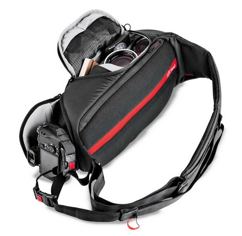 Manfrotto ProLight FastTrack-8 : hybride sling et courroie Manfro12