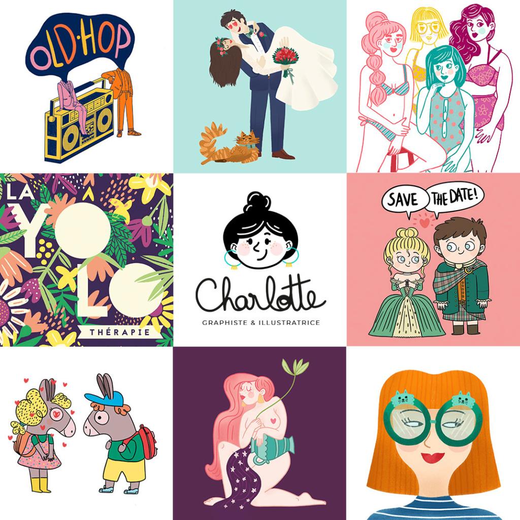 Graphiste & illustratrice freelance  Montag10