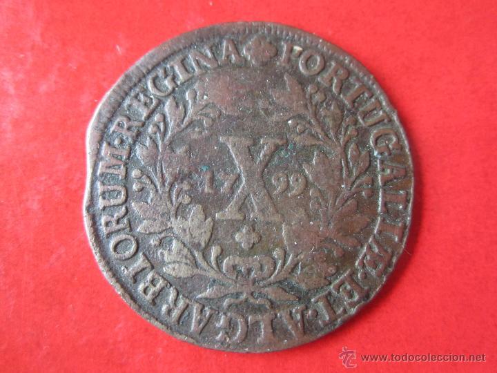 Portugal, 10 Reis de D. Maria I, 1799 54483410
