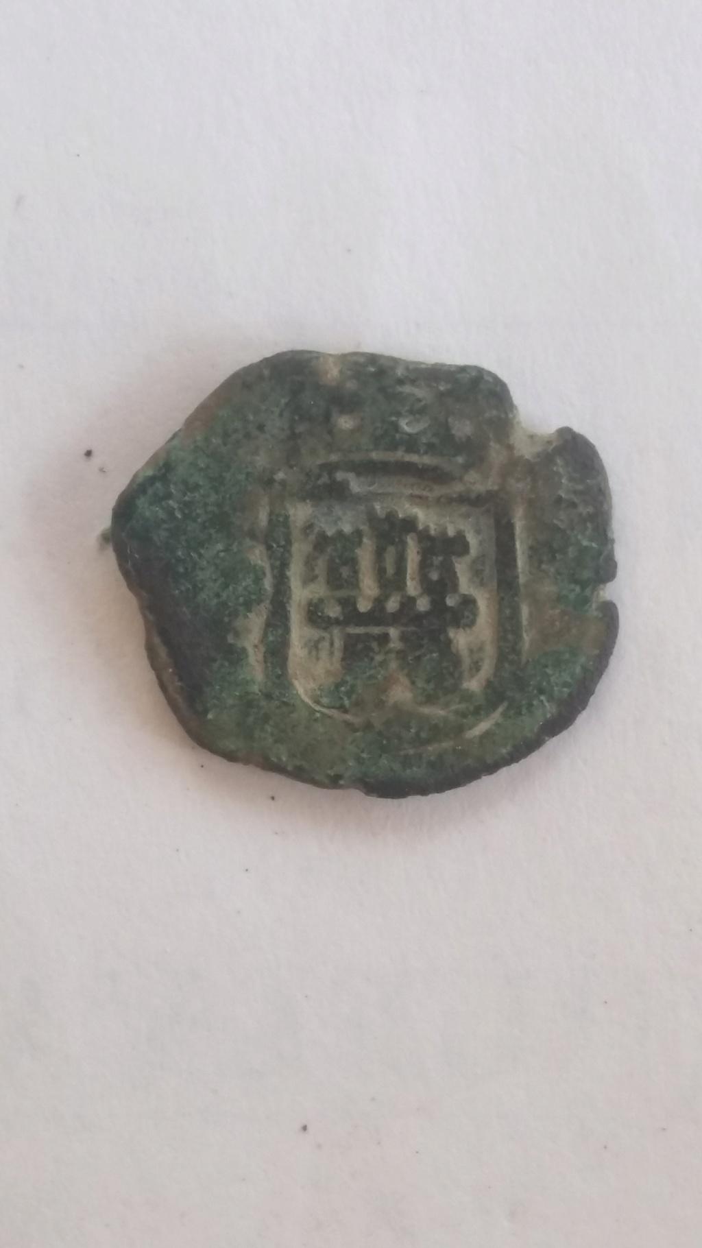 II Maravedís Carlos II (Coruña 1684) 910