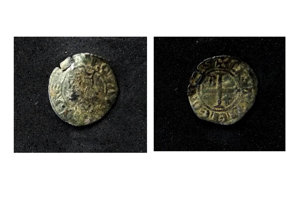 Meaja coronada de Sancho IV. Dinero10