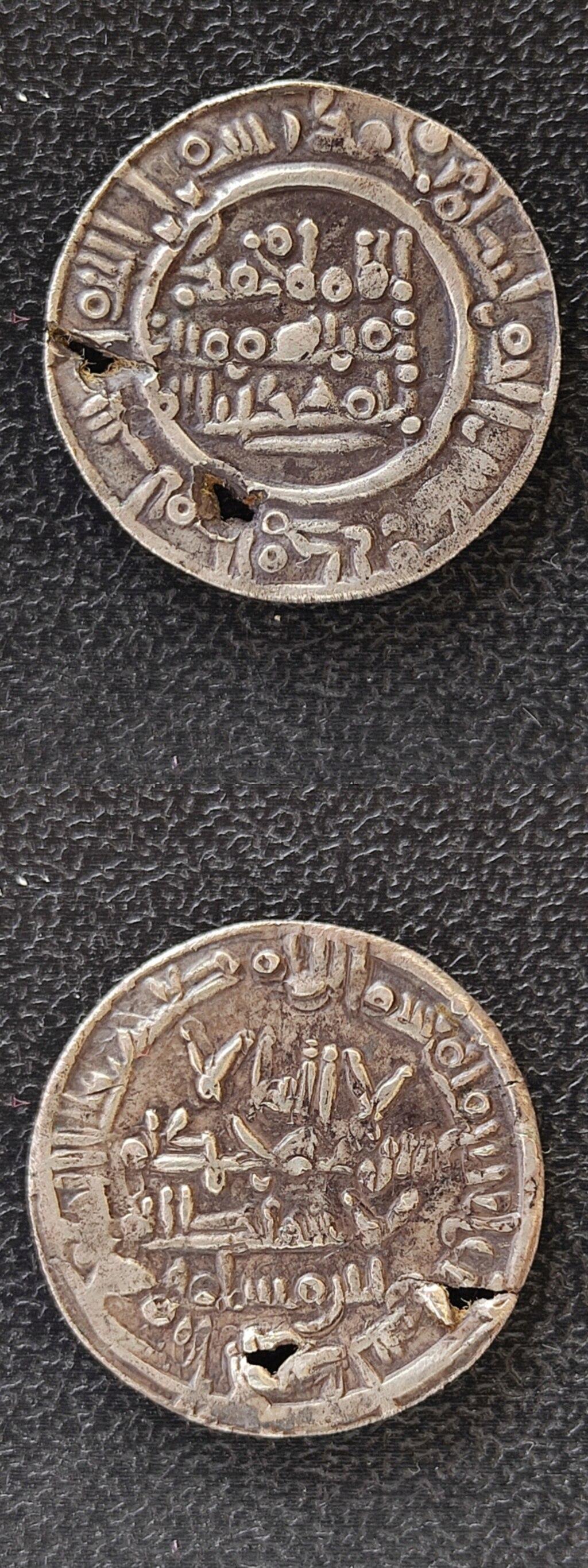 Dírham de Muhammad II, al-Ándalus, 400 H Img_2034