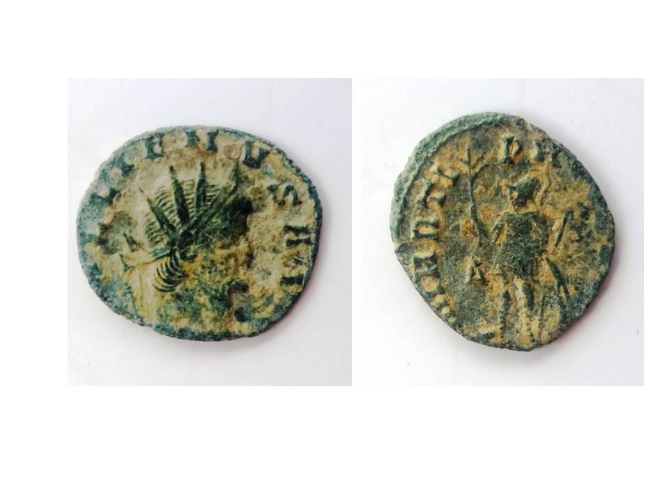 Antoniniano de Galieno. MARTI PACIFERO. Roma Presen13