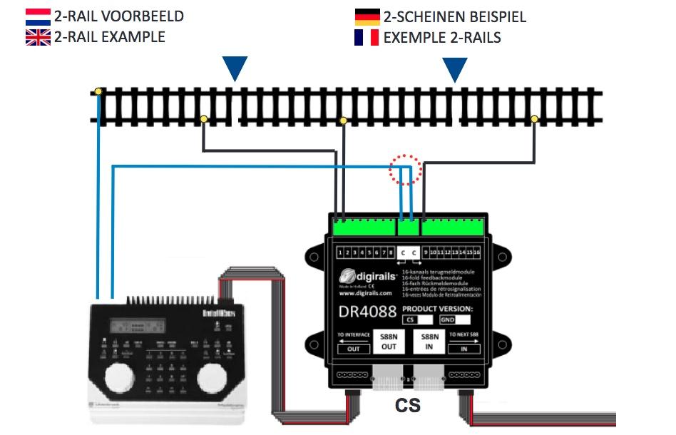 Acantonamiento, detectores, decoder de accesorios... en nueva maqueta M. Digike10