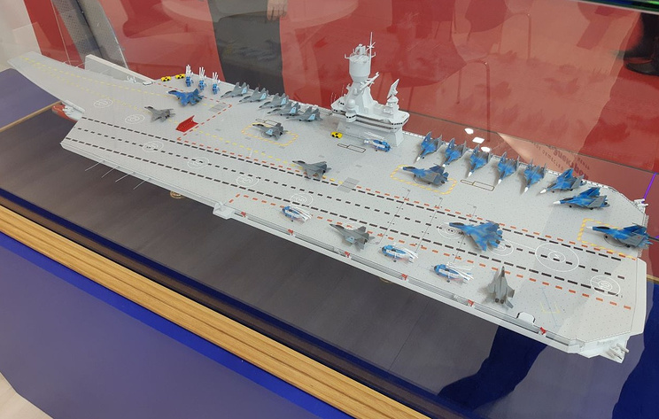 Future russian aircraft carriers. #3 - Page 3 47789610