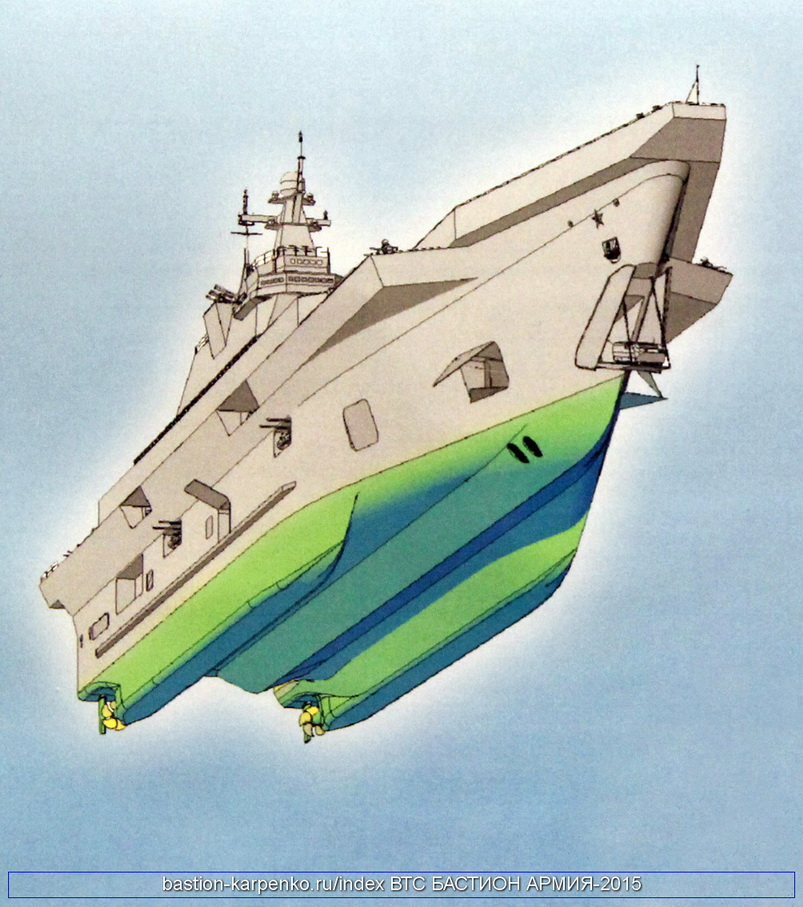 "Project 23900 ""Priboy"" Amphibious assault ship Lavina12"