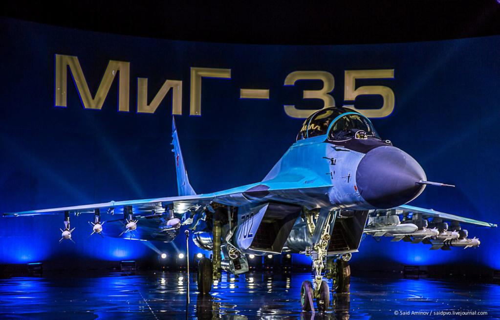 5th gen light mulltirole fighter/Mikoyan LMFS - Page 17 Mig-3510