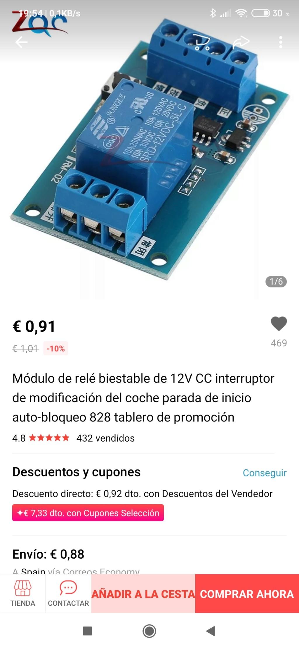 Interruptor antinieblas doble Screen10