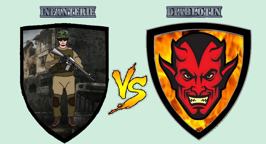 L'Infanterie contre les Diablotins