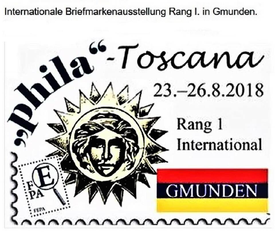 Briefmarken - Internationale Briefmarken-Wettbewerbsausstellung in Gumden 2018 39933010