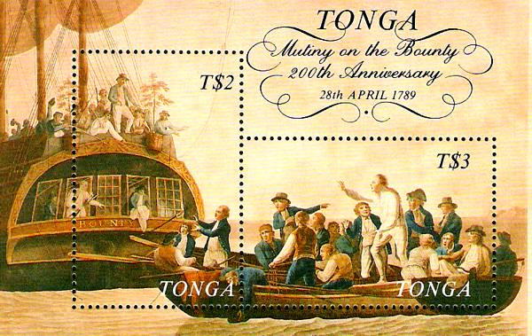 ● Briefmarken-Kalender 2021 Bounty11