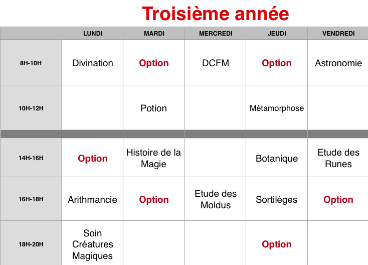 Planning des cours 3eame_10