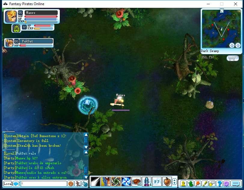 "Welcome!! Como llegar a Dark Swamp ""DS"" , Gemas , pequeños tips :p Screen28"