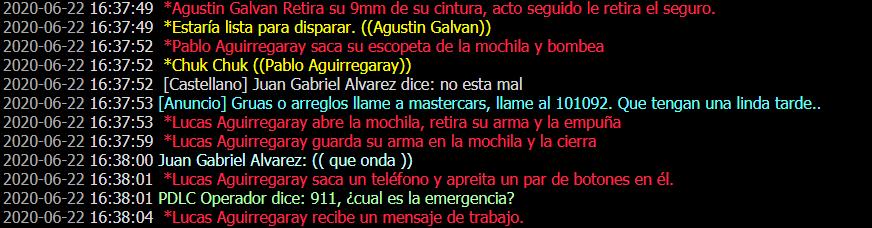 [Reporte] Agustín Galvan Asd19