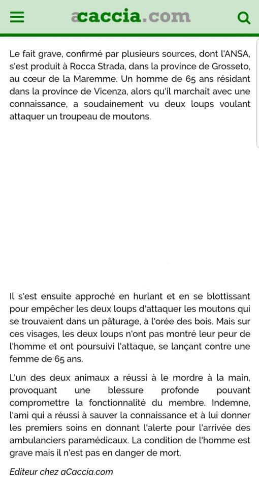 """le loup : """"disparition d'un métier""""...  - Page 15 Traduc11"""