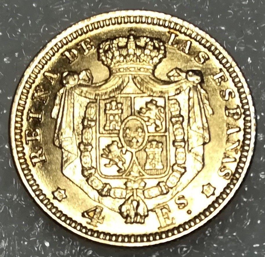 Isabel II 4 escudos 1867 S-l16012