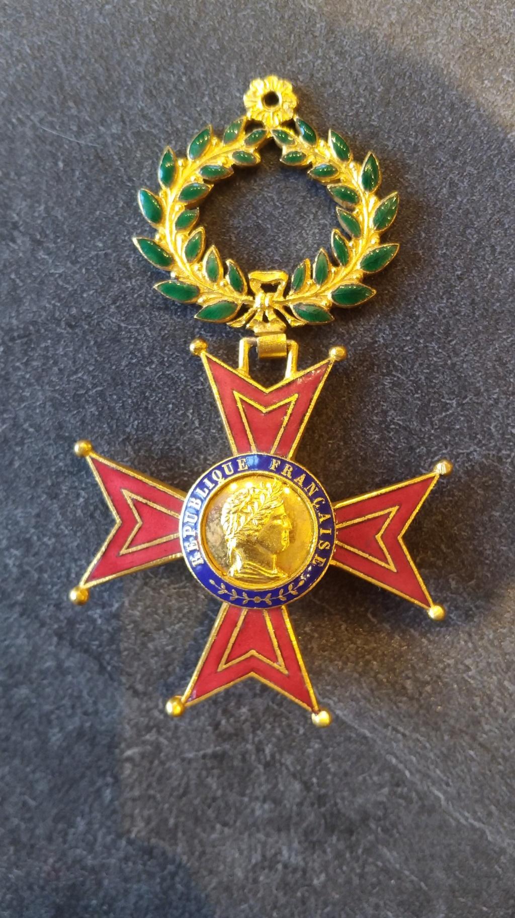 Médaille à identifier P_201811