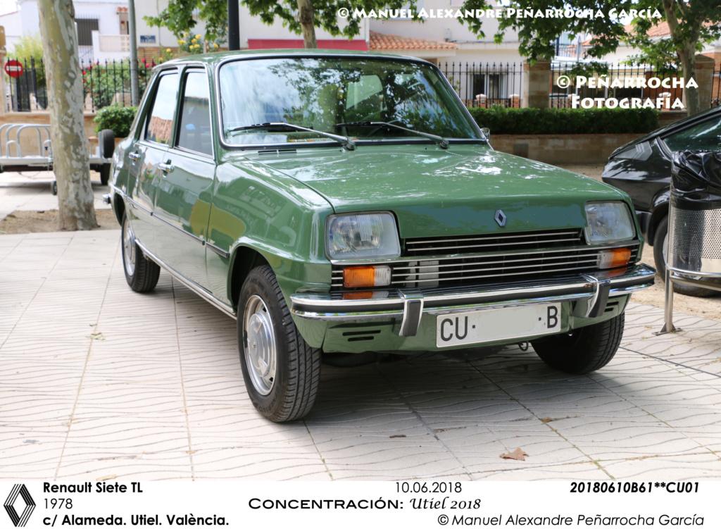 Galería fotográfica de los Renault Siete/7 zona de Valencia 20180610