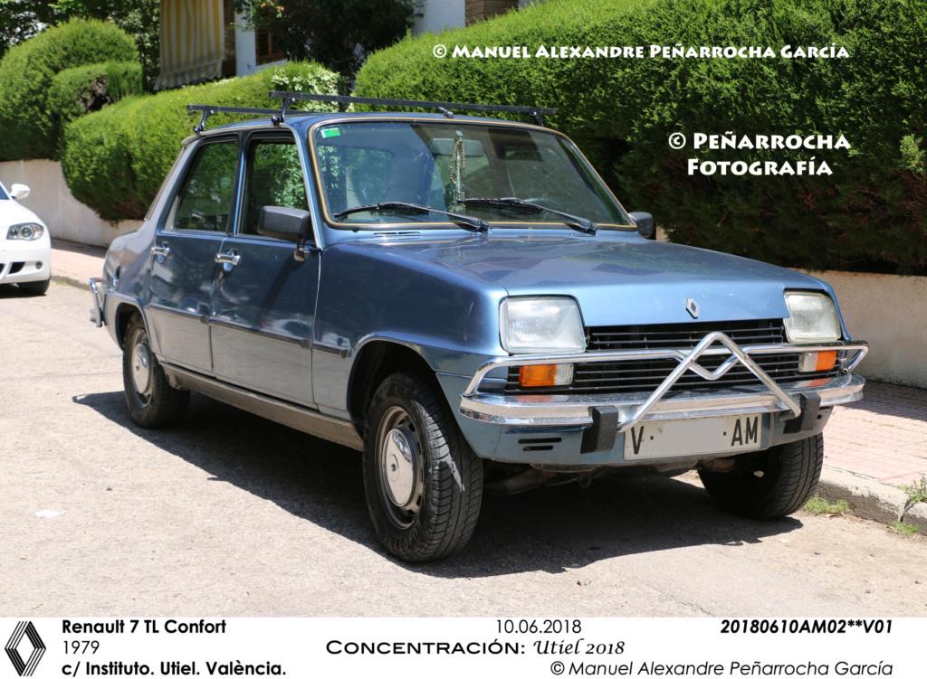 Galería fotográfica de los Renault Siete/7 zona de Valencia 20180611