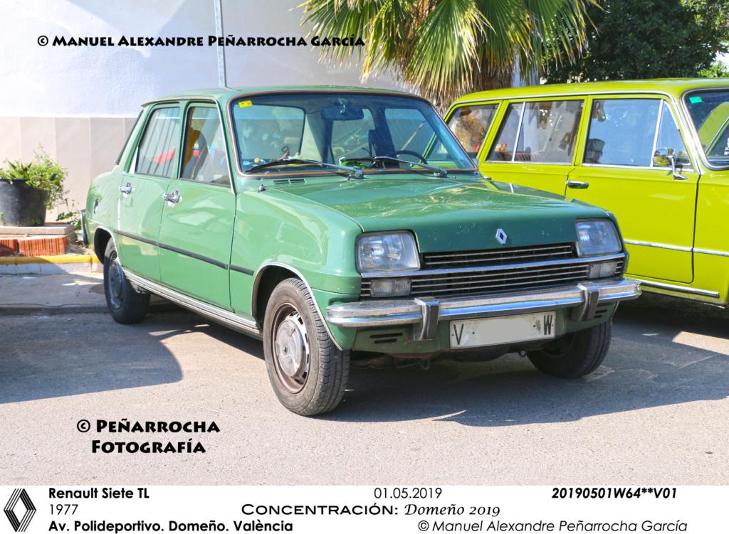 Galería fotográfica de los Renault Siete/7 zona de Valencia 20190510