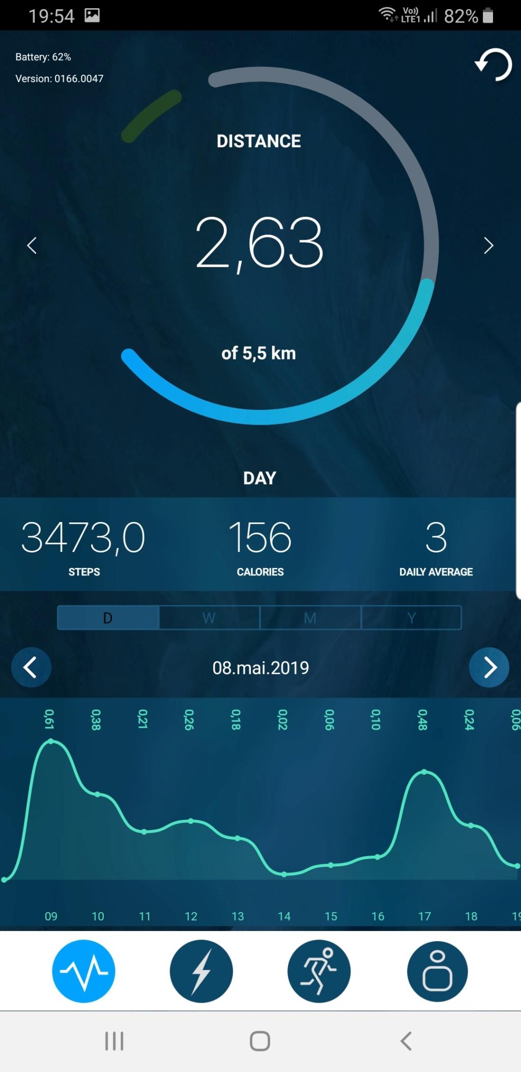 Sequent : Smartwatch a rechargement Kinetique Screen11