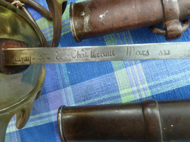 Sabres de Châtellerault 1832 P1040617