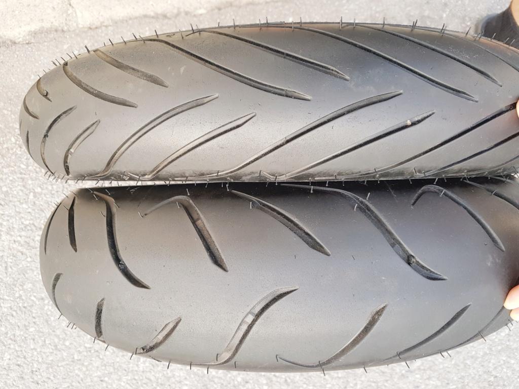 Vends pneus DUNLOP SPORTMAX ROADSMART 2 XTZ 1200 20190610