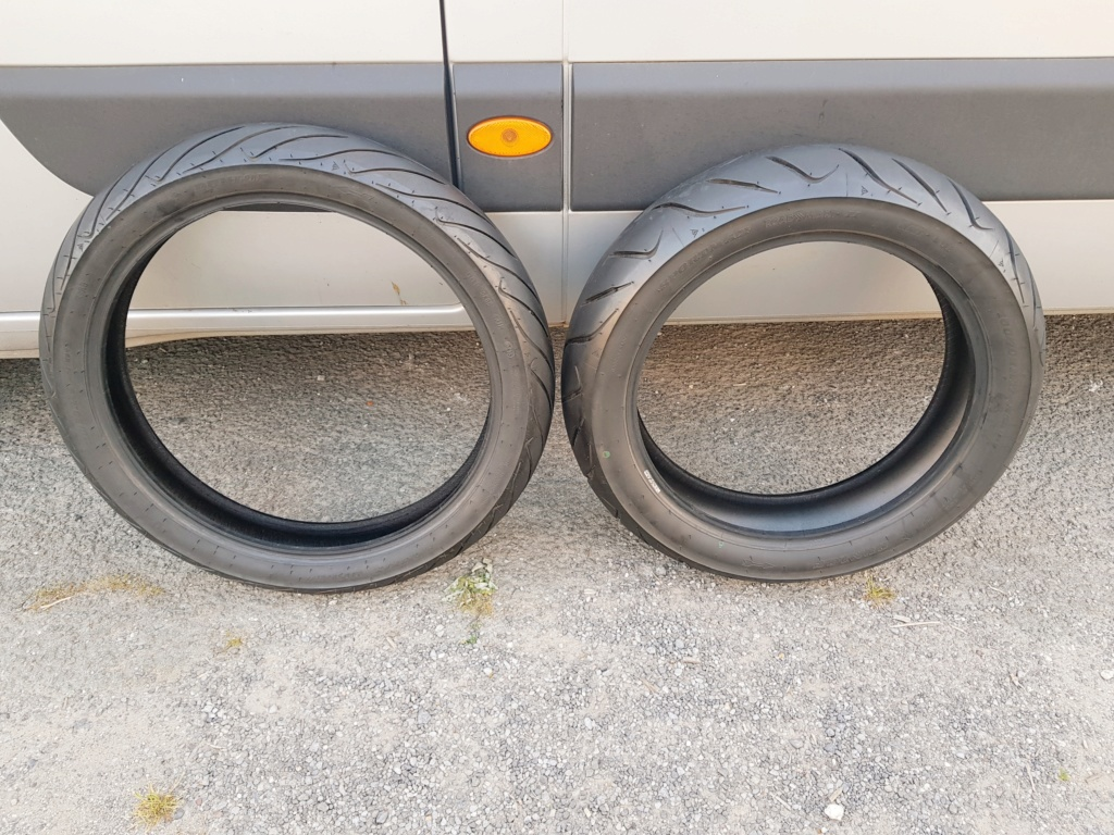 Vends pneus DUNLOP SPORTMAX ROADSMART 2 XTZ 1200 20190611