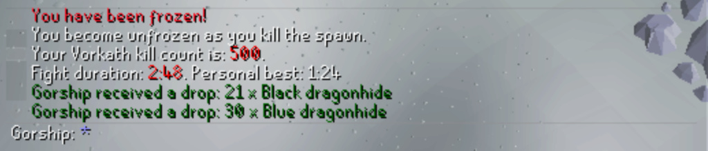 7 days of Vorkath - Into the frost dome Screen14