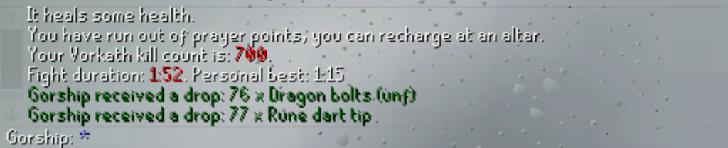 7 days of Vorkath - Into the frost dome Screen16