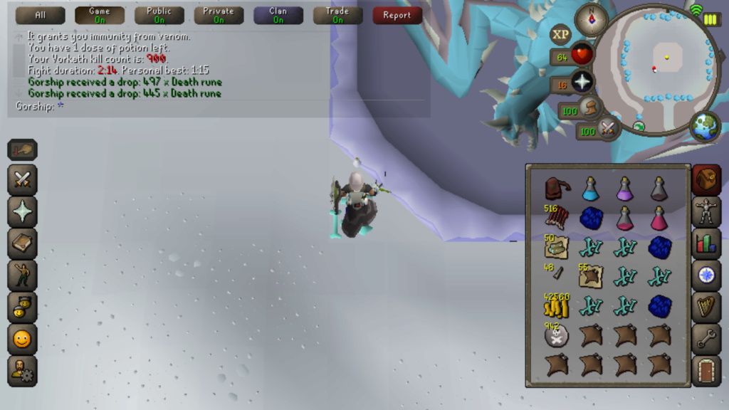 7 Days of Vorkath pt2 - Another day another visage Screen19