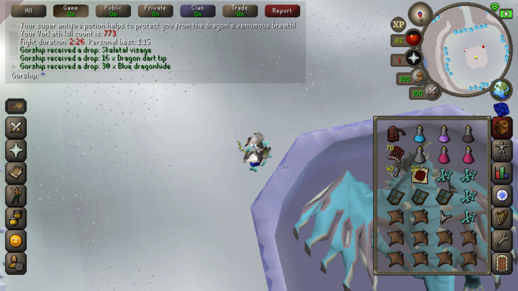 7 Days of Vorkath pt2 - Another day another visage Screen20