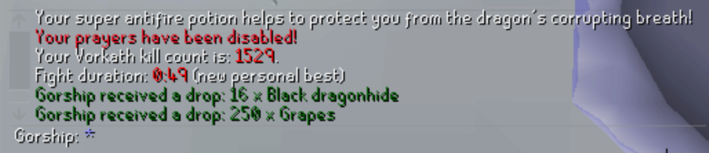 7 Days of Vorkath pt3 - Breaking records Screen26