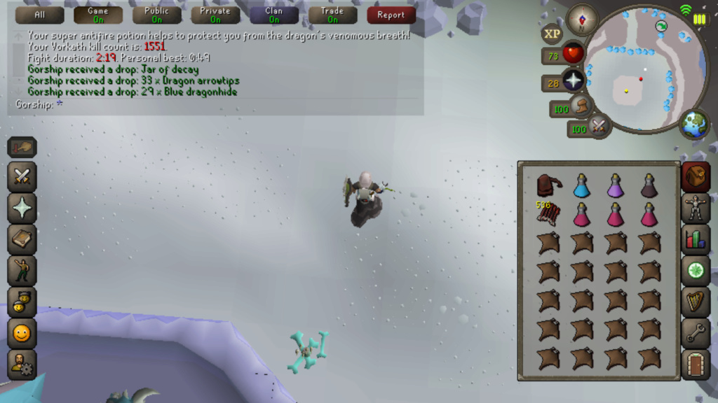 7 Days of Vorkath pt3 - Breaking records Screen27