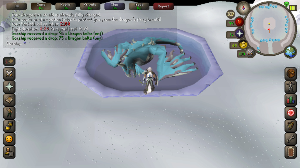 7 Days of Vorkath pt3 - Breaking records Screen28