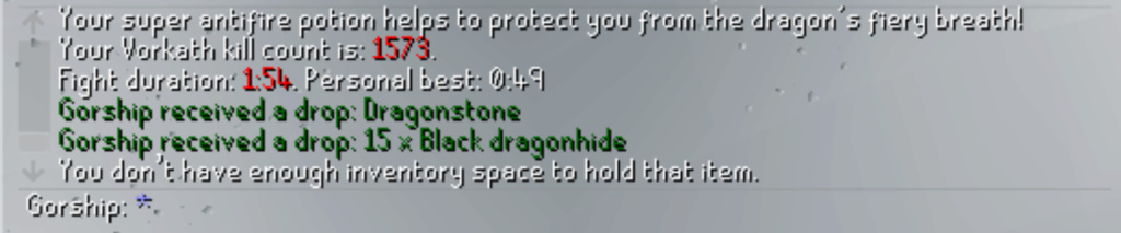 7 Days of Vorkath pt3 - Breaking records Screen31