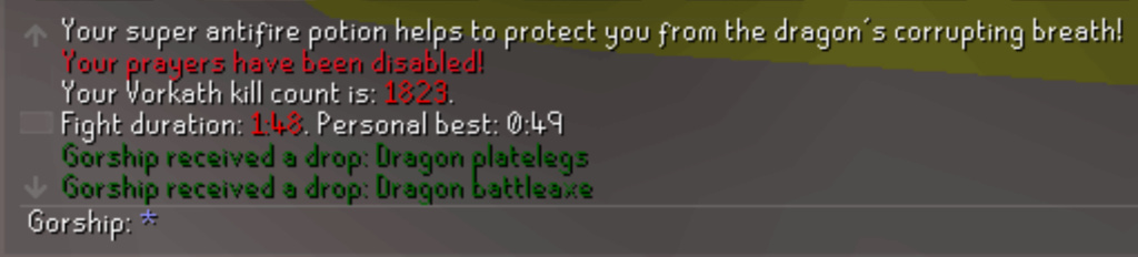 7 Days of Vorkath pt3 - Breaking records Screen32