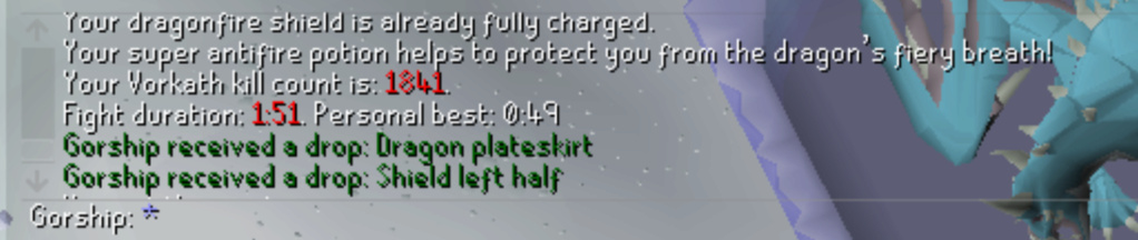 7 Days of Vorkath pt3 - Breaking records Screen34