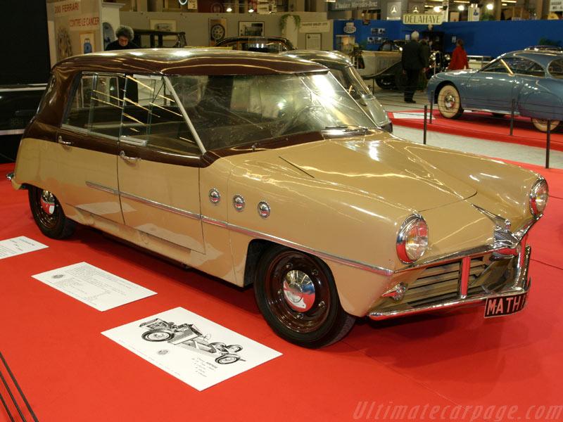 La Mathis 666 concept 1948 Mathis10