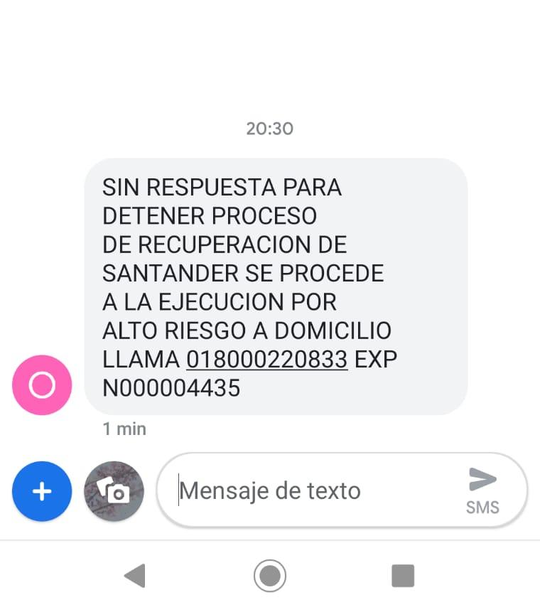Deuda con Banamex y Santander. Whatsa12