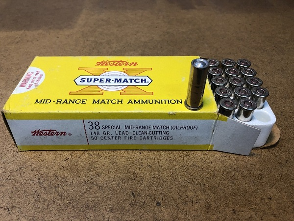 WTS: *** SOLD *** Western Super-Match 38 special ammo 148gr lead wadcutter $18/box/OBO 2019-011