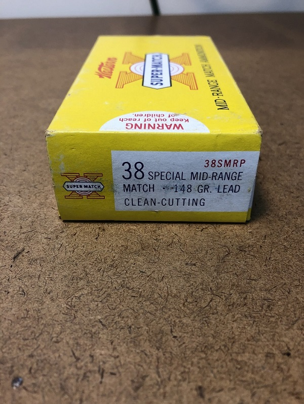 WTS: *** SOLD *** Western Super-Match 38 special ammo 148gr lead wadcutter $18/box/OBO 2019-012